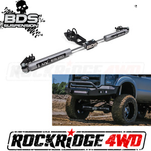 Bds Nx2 Series Dual Steering Stabilizer Kit For 99 04 Ford F250 F350 4wd
