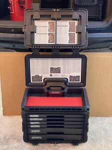 Snap On Tools Pelican 6 Drawer W Top Tray Tool Chest Box Gmtk W Wheels