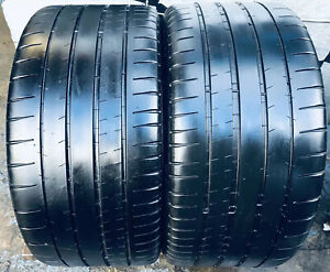 2 265 40zr18 101y Michelin Pilot Super Sport 6 6 5 32 Tread Life 265 40 18