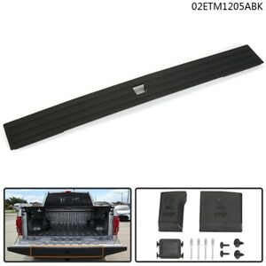 Tailgate Cap Flexible Flex Step Pad Molding Trim Kit For 2015 2020 Ford F150