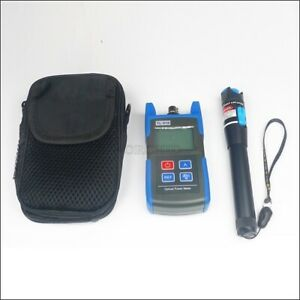 Optical Power Fiber Meter 20 Visual Fault Locator Fiber Optic Cable Tester Zu