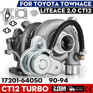 Turbo Charger For Toyota Townace 2 0l Ct12 17201 64050 Turbocharger