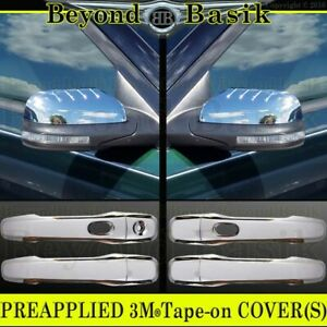 2011 12 2013 2014 2015 Ford Explorer Chrome Door Handle Covers W Sk Mirrors