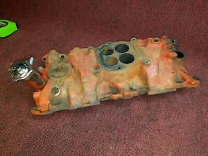 1964 65 Chevy Corvette 300hp 327 Intake Manifold 3844459 Dated L 23 4 217st