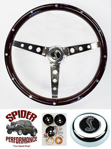 65 69 Fairlane Falcon Galaxie 500 Steering Wheel Cobra 15 Classic Wood