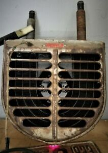 Vtg Tested Art Deco Arvin Heater 1930 S 1940 S Rat Rod Roadster Hot Water Style