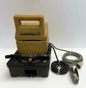 Enerpac Puj1200e Electric Hydraulic Pump Power Pack 700 Bar 10 000 Psi 220v 2