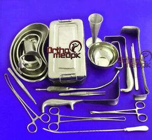 C section Cesarean Section Set Ob gynecology Surgical Instruments 54 Pcs Grade A