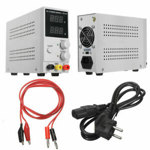 30v 10a Digital Regulated Dc Power Supply Lcd Adjustable Dual Digital Display Be