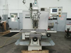 Milltronics Mb19 Cnc 3 axis Bed Mill With Centurion 6 Cnc Control For Sale