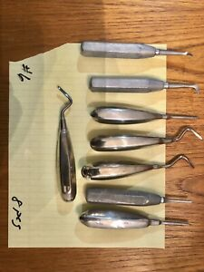 Used Dentist Hand Tools Lot Dental Surgical Tools