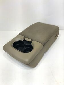 2004 2005 2006 2007 2008 Ford F150 Jump Seat Center Console Armrest Tan Beige