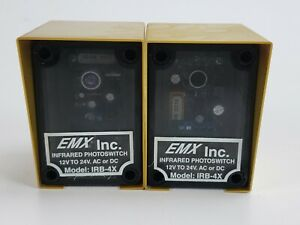 Emx Infrared Photoswitch Safety Sensors Irb 4x 12v 24v Ac Or Dc W Gold Covers