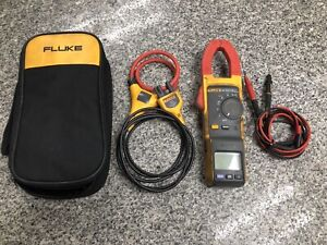 Fluke 381 Remote Display Trms Clamp Meter With Iflex A x