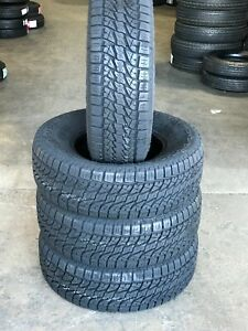 4 X New P255 70r16 Lionsport A t At All Terrain Tires 255 70 16 111t Bsw R16