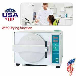 18l Dental Lab Autoclave Steam Sterilizer Digital Display With Drying Function
