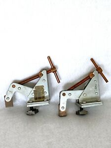 Machinist Tool Lot 2 Kant Twist Clamps For Welding Lathe Work Holding 3f