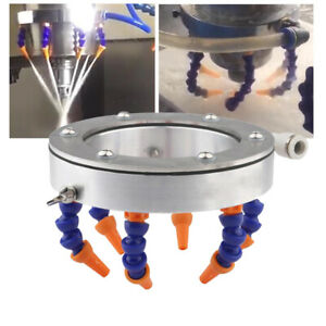 Spindle Motor Spraying Water Cooling Ring For Cnc Engraving Machine 100mm Alumin