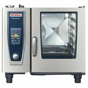 New Rational Sccwe61 Electric 208 3 Ph Unit 2 Year Factory Warranty B618106 12