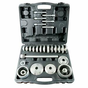 31pcs Front Wheel Drive Hub Bearing Puller Install Removal Automotive Hand Tool