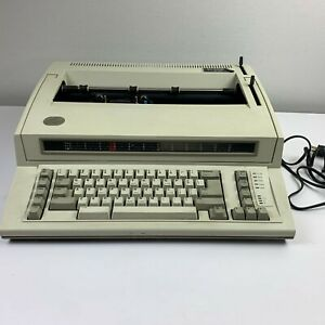 Ibm Personal Wheelwriter 2 By Lexmark Electronic Typewriter 6781 Vintage Tested