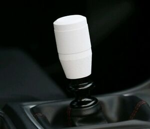 Ssco Kr 3 3 Wrinkle White Stainless Steel Knurled Shift Knob Weighted 12x1 25mm