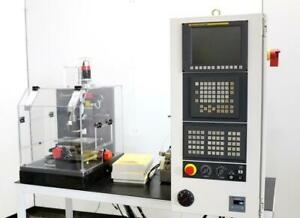 Cameron fanuc Cnc High Precision Micro Milling Drilling Center W tool Changer