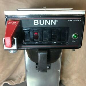 Bunn Cwtf 35 aps Coffee Brewer Maker For Airpots 110v 23001 0008 Refurbished