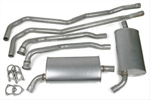 64 65 66 67 Corvette 2 Exhaust System For Models With Base 327 Engine