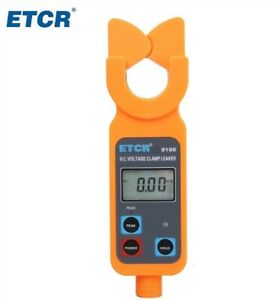 Etcr9100 High low 0 00ma 600a Data Memory Voltage Clamp Meter Cy