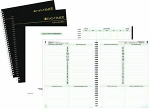 1 page per day Planner Refill Notebook Size