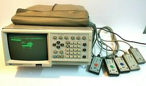 Hp 1630a Logic Analyzer With Pods 0 4 And Power Cord