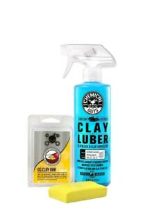 Chemical Guys Cly113 Og Clay Bar Luber Synthetic Lubricant Kit Yellow New
