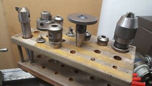 Moore Jig Borer Tools And Tool Holder Lot