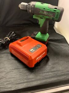 Snap on 18v Cdr8850h Cordless Hammer Drill With Battery And Charger