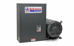Pl 40 Pro line 40hp Rotary Phase Converter Single To Three Phase Converter