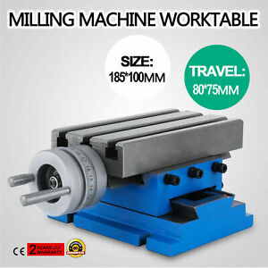Milling Drilling Worktable Compound Cross Slide Multifunction Bench Table