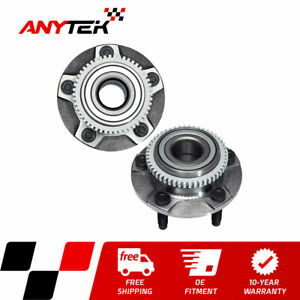 2pc Front Wheel Hub Bearing W Abs For 1994 2000 2001 2002 2003 2004 Ford Mustang
