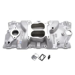 Edelbrock 2101 Performer 1955 86 Small Block Chevy Intake Manifold