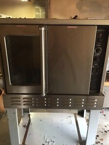 Commercial Gas Convection Oven Deep Depth