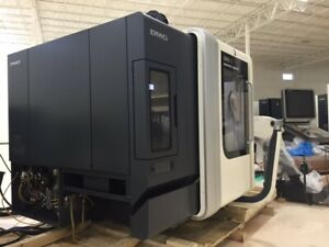 Used Dmg Mori Dmu 50 Cnc 5 Axis Vertical Machining Center Mill 10k Rpm Tsc 2010