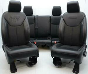 07 2011 2012 2013 2014 2015 2016 Jeep Wrangler 75th Jk Front Rear Leather Seats