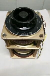 Variac Type M20 G3 New Old Stock Appears To Be Brand New And Never Used