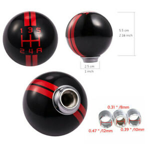 Universal 5 Speed Car Manual Gear Shift Knob Shifter Lever Fit For Ford Mustang