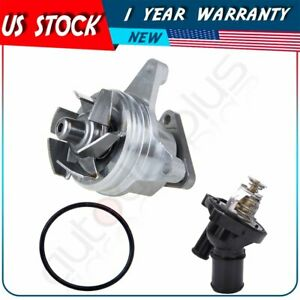 Water Pump Thermostat For Ford Escape Fusion Focus Ranger Lincoln Mazda 6 5 3 2