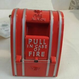 Edwards Fire Alarm Station 270 spo Red Metal Pull New In Box