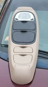 Oem Overhead Console Dome Light W Radio Control Taupe Tan 1998 Ford Windstar