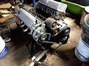 87 93 Ford Mustang 302 Engine Gt40 Heads With T5 Transmission
