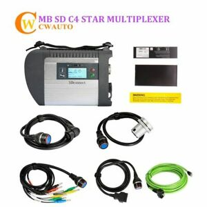Mb Star C4 Sd Connect 2019 12 Compact Multiplexer Car Truck Diagnostic Wifi Tool