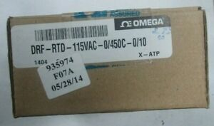 Omega Engineering Drf rtd 115vac 0 450c 0 10 Current Signal Conditioner